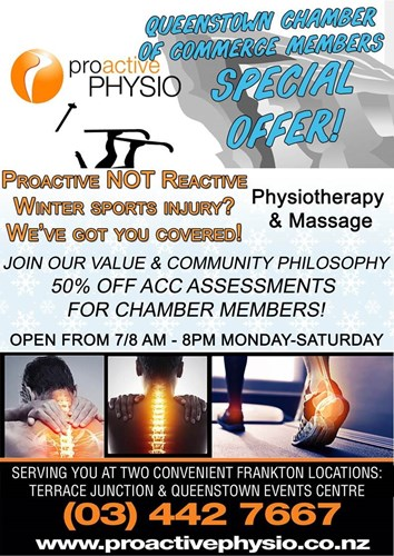 Proactive Physio 50 Off Acc Essments